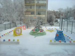 творческий проект Новогодний городок 2013