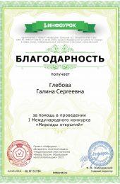 Благодарность проекта infourok.ru № KГ-51734 (570×800)