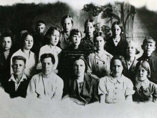Выпуск 1940 года, 7 класс