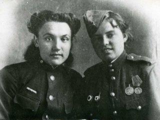 Костерина Надя, Лысачук Нина, 1943 г. Тобольск