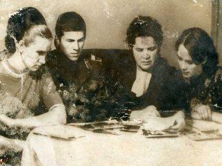 Встреча с матерью А.Шестакова Еленой Васильевной