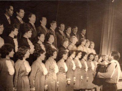 Хор учителей 1974 год