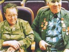 Нажим Курбанов с женой Мынжамал
