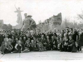 Встреча дивизии в г. Волгограде