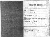 Трудовая книжка - Василий Иванович Самороков 1