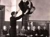 Урок физкультуры. Преподаватель Лев Максимович 1951 – 1952гг