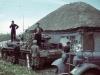 Немецкий танк Pz.IV в донской станице